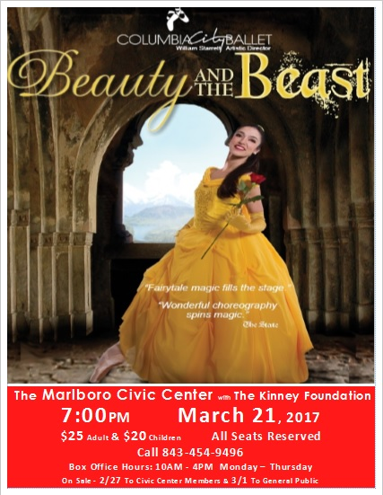 Beaty and the Beast Flyer