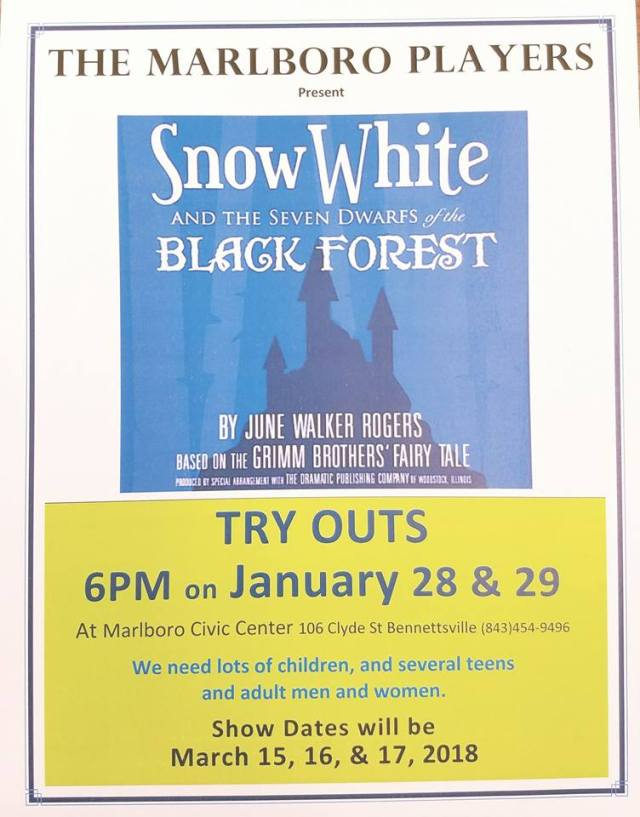 MP Snow White Try Outs