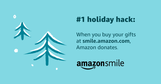 Amazon Smiles ad
