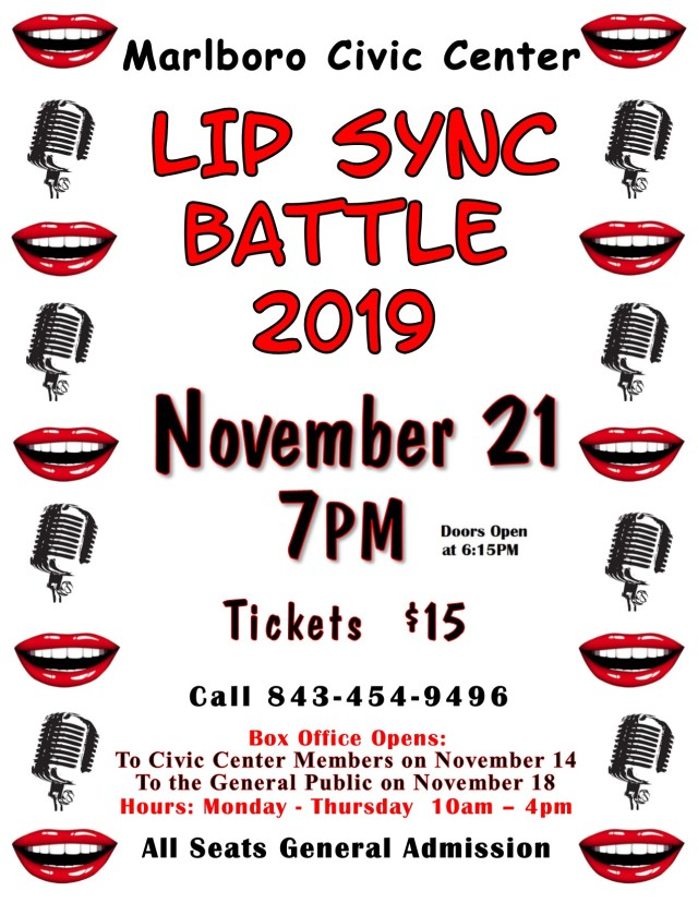 2019 Lip Sync Battle Flyer