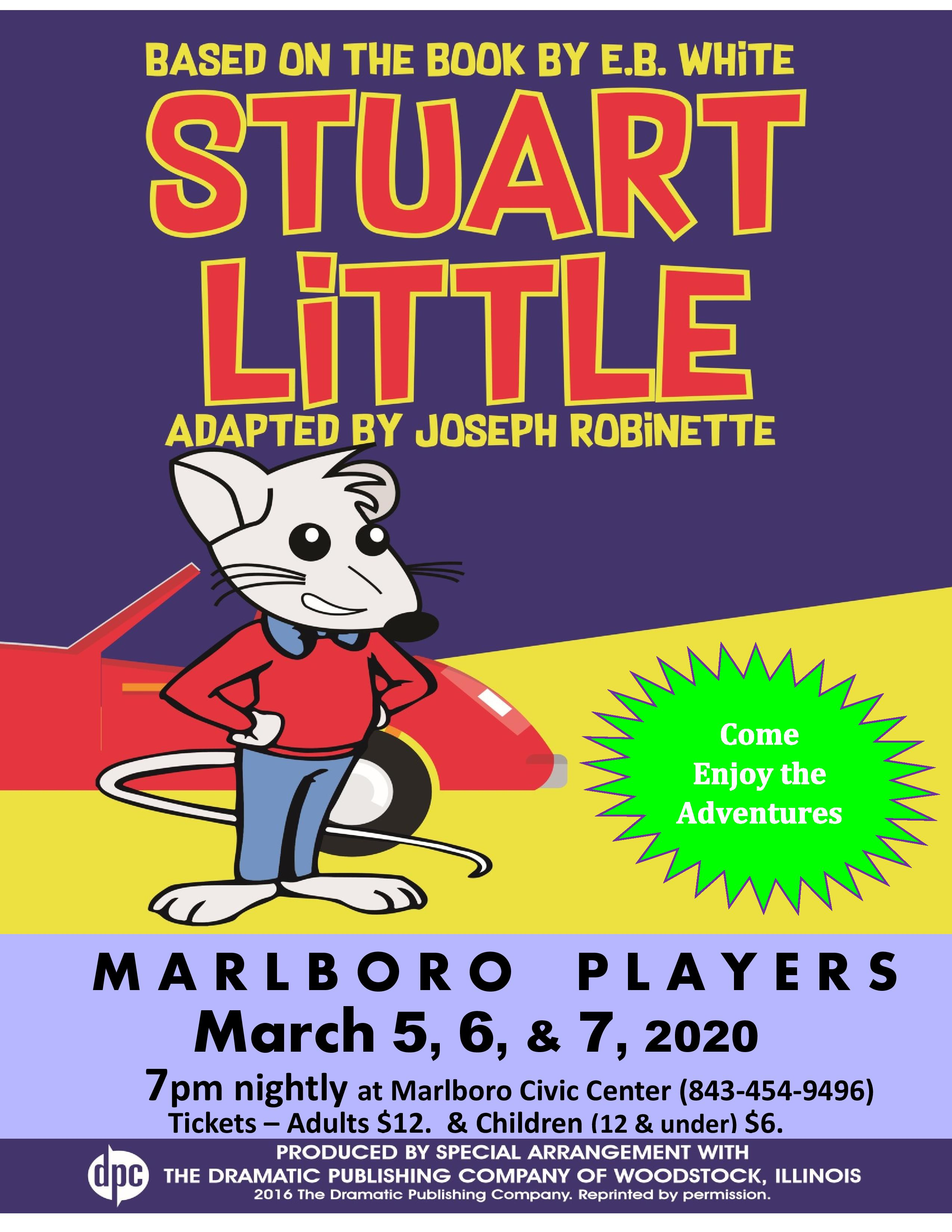 Stuart Little -Show Flyer-page-001
